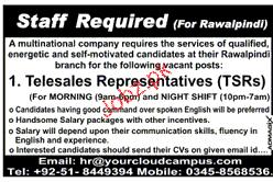 Telesales Representatives Job Opportunity