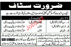 Sub Engineers, Foreman and Lineman Job Opportunity