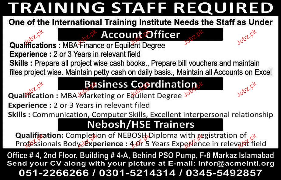 Account Officers, Business Coordinators Job Opportunity
