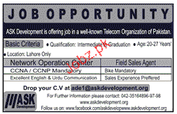Field Sales Agents Job Opportunity