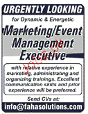Event Management Executives Job Opportuntiy