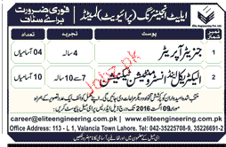 Generator Operators and Instruments Technicians Wanted