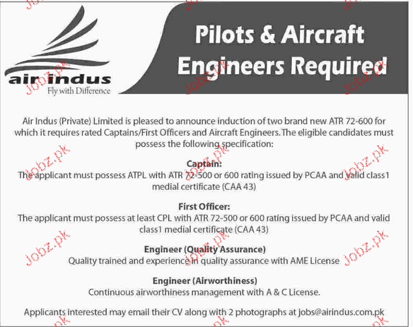 Captains, First Officers, Engineers Quality Assurance Wanted