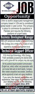Business Development Manager Job Opportunity