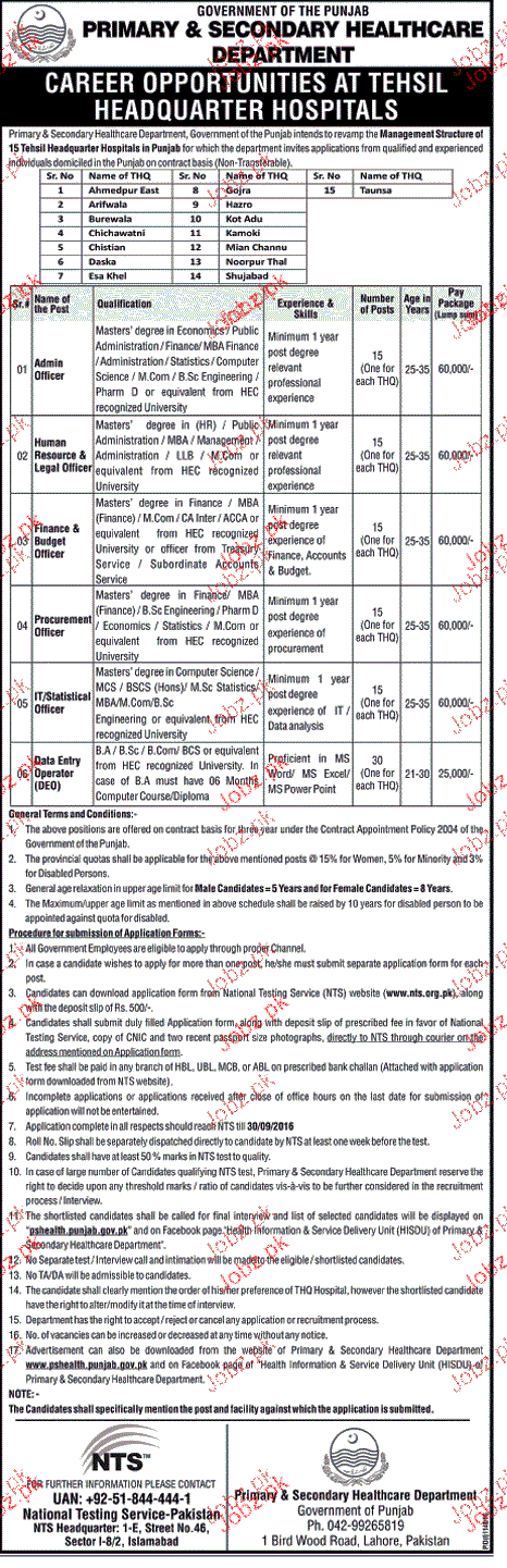 Admin Officers, HR Logistics Officers Job Opportunity