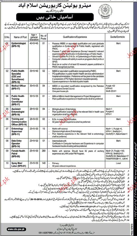 Medical Officers, Public Health Coordinators Job Opportunity