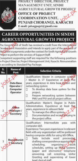 Database Operators, Office Manager Job Opportunity