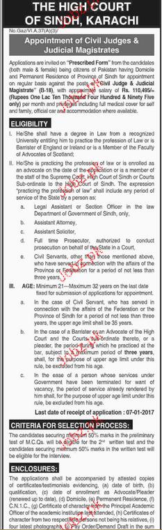 Recruitment of Civil Judges and Judicial Magistrates