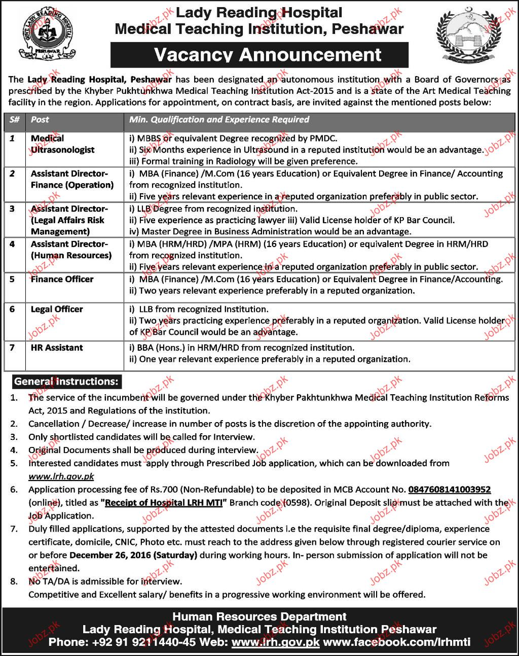 Medical Ultrasonologists, Assistant Director Job Opportunity