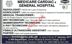 Radiologists, Medical Transcribers Job Opportunity