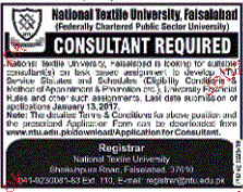 Consultants Job Opportunity
