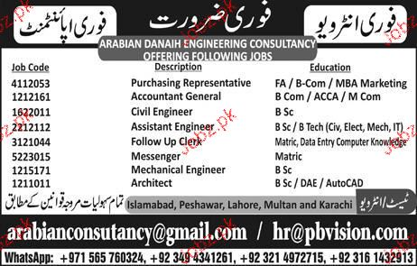 Accountant General, Civil Engineers Job Opportunity