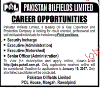 Executives, Security Guards Job Opportunity