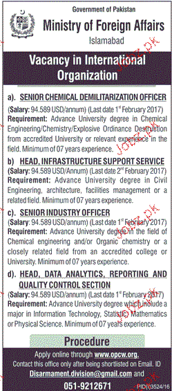 Senior Mechanical, Head Infrastructure Job Opportunity