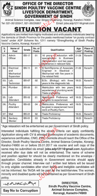 Admin Officers, Electrical Supervisors Job Opportunity