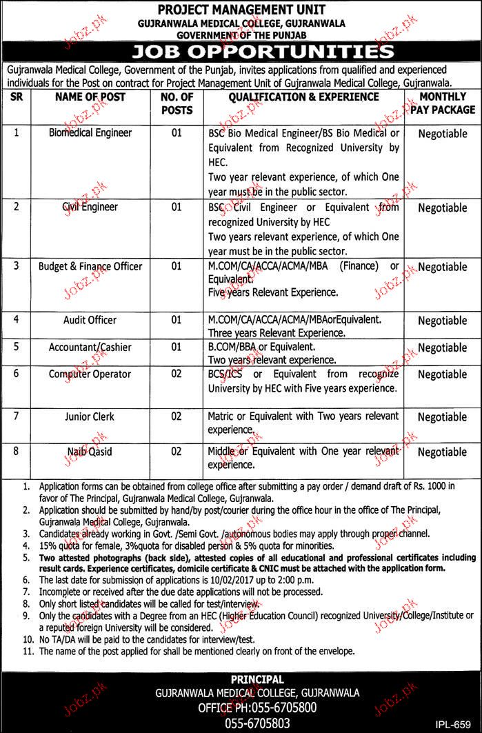 Biomedical Engineers Civil Engineers Job Opportunity  Jobs Pakistan