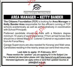 area manager job description
