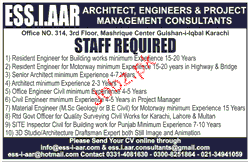 Resident Engineers, Civil Engineers Job Opportunity