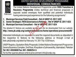 Consultants Job in United Nation Development Program