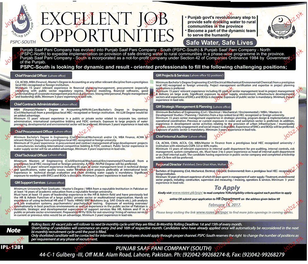 Chief operating officers chief technical officers wanted 2019 job advertisement pakistan - Chief operating officer jobs ...
