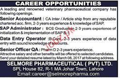 Senior Accountant, SAP Administration Job Opportunity 2019 Job