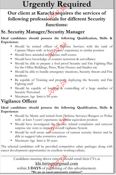 senior security manager security manager job opportunity. Black Bedroom Furniture Sets. Home Design Ideas