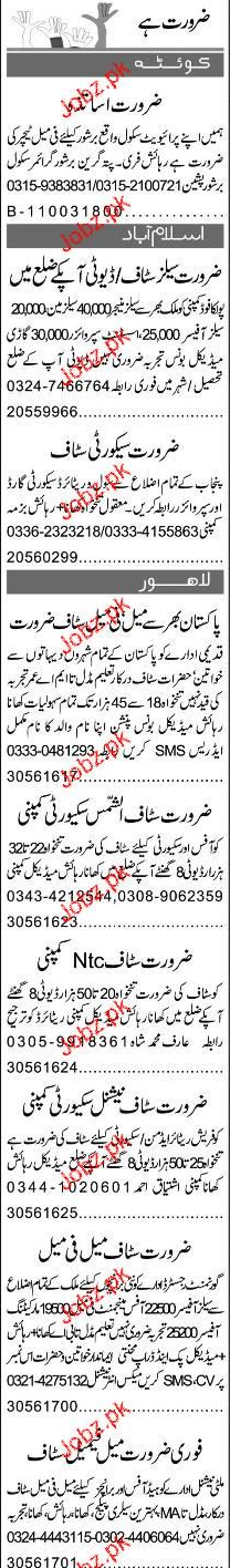 Sales Manager, Sales Officers Job Opportunity
