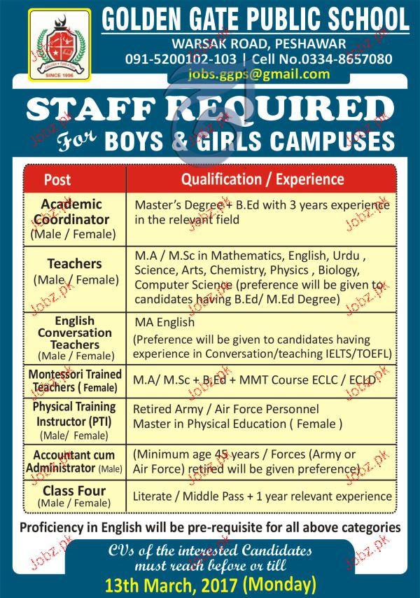 Academic Coordinator, Teachers, Conversation Teachers Wanted