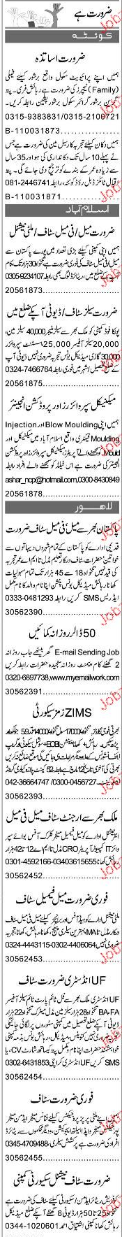 Production Engineers, Mechanical Supervisors Job Opportunity