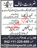 Drivers, Lab Technicians, Security Guards Job Opportunity