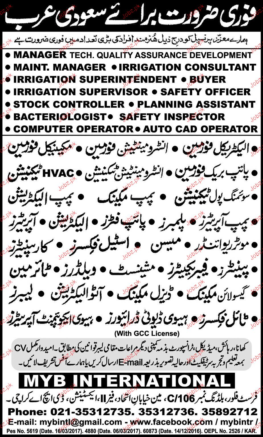 Electrical Foreman, Instrument Technicians Job Opportunity
