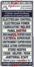 Electricians, Panel Shfters, Supervisors Job Opportunity