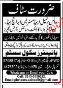 Vice Principal, Headmistress and Accountant Job Opportunity