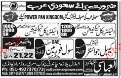 Electrical Technicians, Cable Jointers Job Opportunity