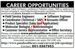 Molecular Biologists, Software Engineers Job Opportunity