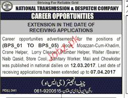 Moazan, Cleaners, Naib Qasid, Chawkidars and Malis Wanted