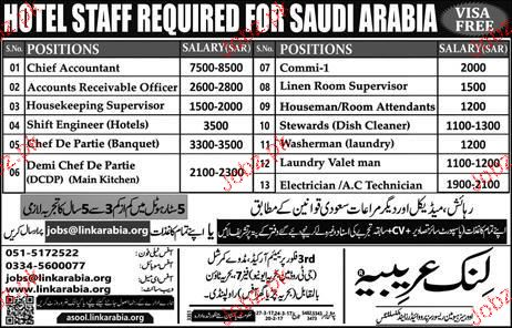 Chief Accountant, Shift Engineers Job Opportunity