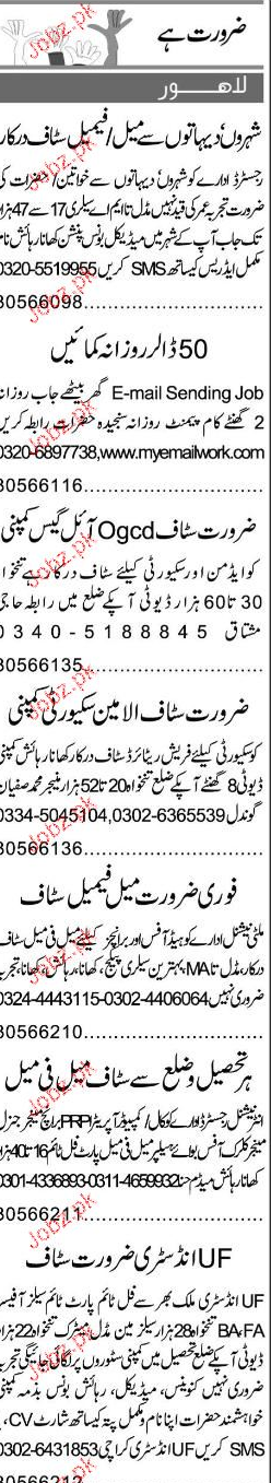 Security Guards and Data Entry Operators Job Opportunity