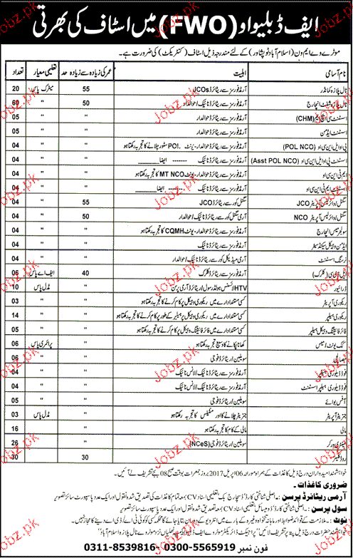 Toll Plaza Commanders, Assistant Admin Job in FWO