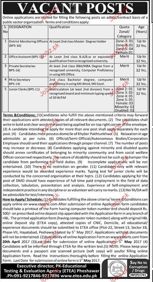 Director Monitoring Officers, Office Assistants Wanted
