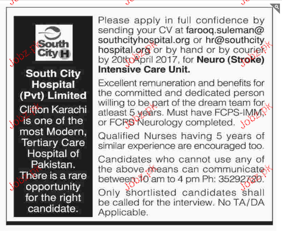 Medical Staff Job Opportunity