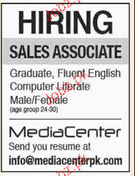 Sales Associates Job Opportunity