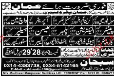 Civil Supervisors, Civil Foreman, Steel Fixers Wanted