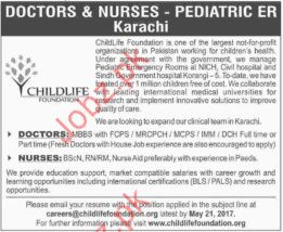 Doctors & Nurses in Child Life Foundation CLF