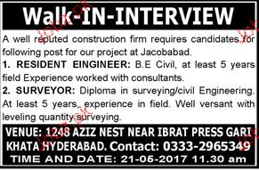 Resident Engineers and Surveyors Job Opportunity