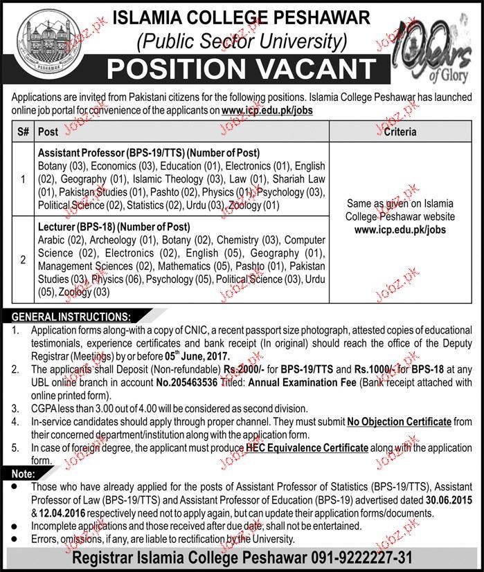 Islamia College Peshawar ICP Public Sector University