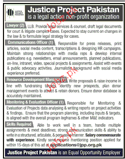 Lawyers, Communication Offices Job Opportunity