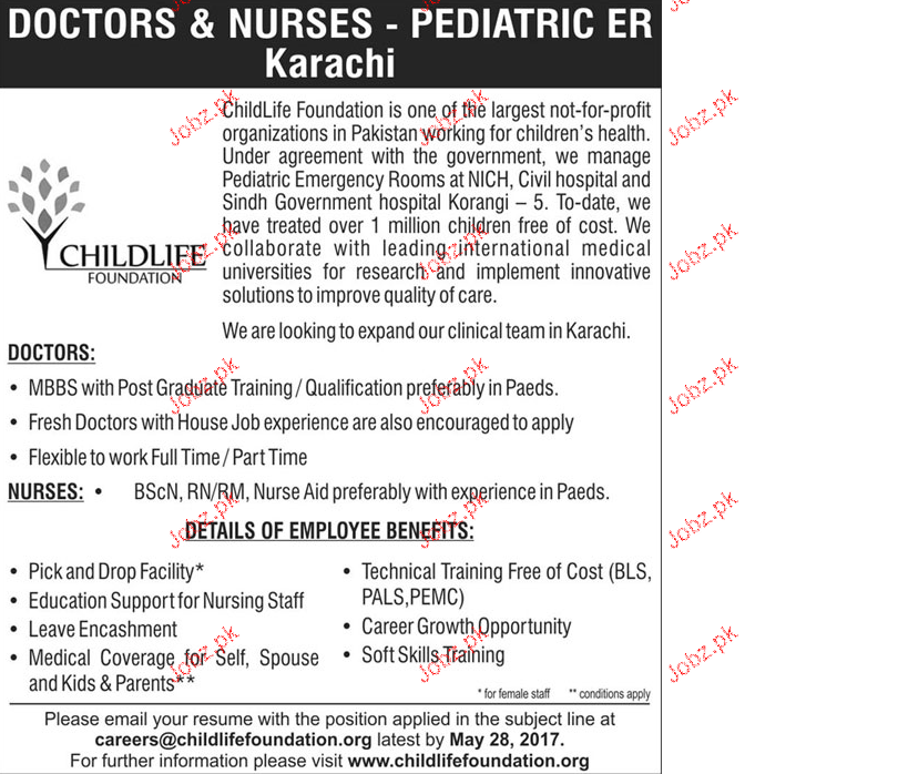 Doctors and Nurses Job Opportunity