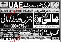 Agriculture Workers, Malis and General Workers Wanted