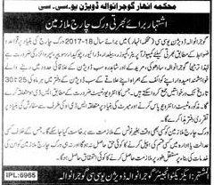 Computer Operator Jobs In Cannal Department
